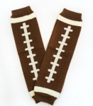 Football Leg Warmers with Ruffles